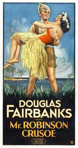 Mr. Robinson Crusoe - 11 x 17 Movie Poster - Style B