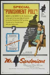 Mr. Sardonicus - 27 x 40 Movie Poster - Style A