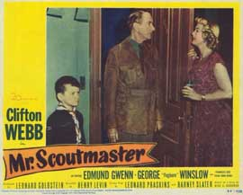 Mr. Scoutmaster - 11 x 14 Movie Poster - Style H