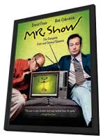 Mr. Show with Bob and David - 11 x 17 Movie Poster - Style A - in Deluxe Wood Frame