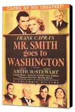 Mr. Smith Goes to Washington - 11 x 17 Movie Poster - Style C - Museum Wrapped Canvas