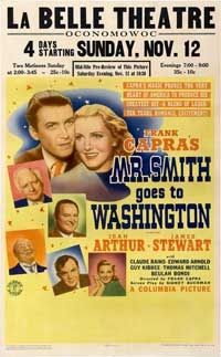 Mr. Smith Goes to Washington - 11 x 17 Movie Poster - Style E