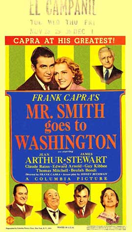 Mr. Smith Goes to Washington - 11 x 17 Movie Poster - Style F