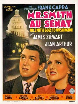 Mr. Smith Goes to Washington - 11 x 17 Movie Poster - Belgian Style A
