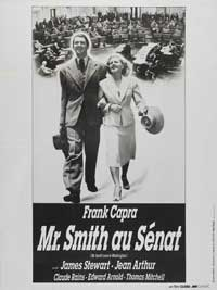 Mr. Smith Goes to Washington - 11 x 17 Movie Poster - French Style A