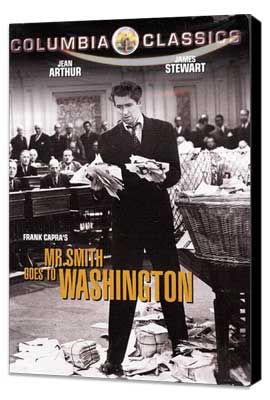 Mr. Smith Goes to Washington - 11 x 17 Movie Poster - Style G - Museum Wrapped Canvas