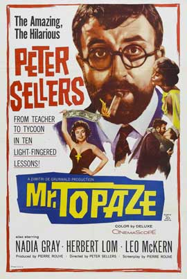 Mr. Topaze - 11 x 17 Movie Poster - Style B