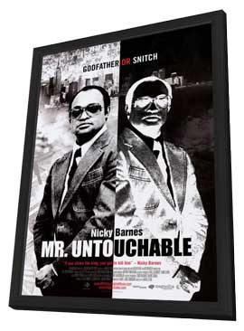Mr. Untouchable - 11 x 17 Movie Poster - Style A - in Deluxe Wood Frame
