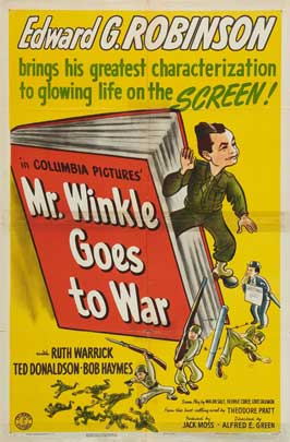 Mr. Winkle Goes to War - 27 x 40 Movie Poster - Style A