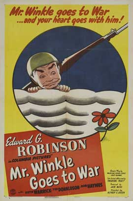 Mr. Winkle Goes to War - 27 x 40 Movie Poster - Style B