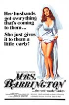 Mrs. Barrington - 11 x 17 Movie Poster - Style A