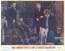 Mrs. Brown, You've Got a Lovely Daughter - 11 x 14 Movie Poster - Style B