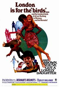 Mrs. Brown, You've Got a Lovely Daughter - 27 x 40 Movie Poster - Style A