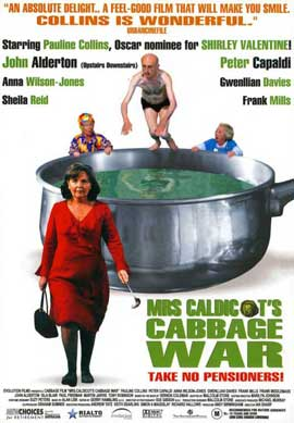 Mrs Caldicot's Cabbage War - 11 x 17 Movie Poster - Style A
