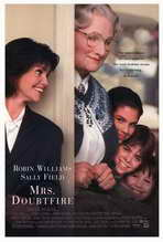 Mrs. Doubtfire - 27 x 40 Movie Poster - Style A