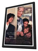 Mrs. Doubtfire - 27 x 40 Movie Poster - Style A - in Deluxe Wood Frame