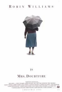 Mrs. Doubtfire - 27 x 40 Movie Poster - Style B