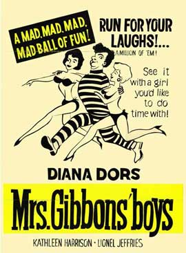 Mrs. Gibbons Boys - 11 x 17 Movie Poster - Style A