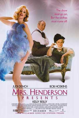 Mrs. Henderson Presents - 27 x 40 Movie Poster - Style A
