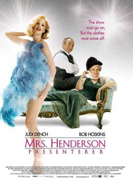 Mrs. Henderson Presents - 11 x 17 Movie Poster - Style C