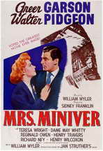 Mrs. Miniver - 11 x 17 Movie Poster - Style A