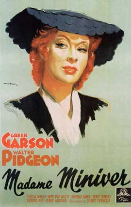 Mrs. Miniver - 11 x 17 Movie Poster - French Style A