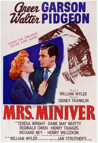 Mrs. Miniver - 43 x 62 Movie Poster - Bus Shelter Style A