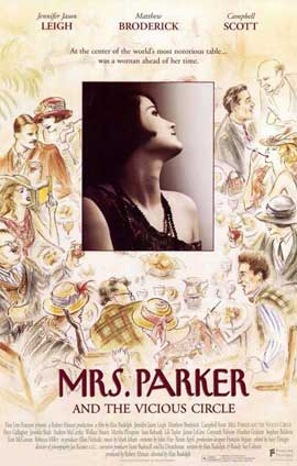 Mrs. Parker and the Vicious Circle - 11 x 17 Movie Poster - Style A