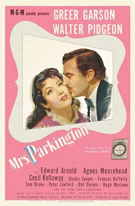 Mrs. Parkington - 11 x 17 Movie Poster - Style B
