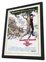 Mrs. Pollifax Spy - 11 x 17 Movie Poster - Style A - in Deluxe Wood Frame