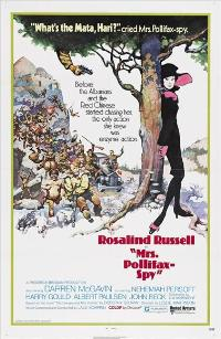 Mrs. Pollifax Spy - 43 x 62 Movie Poster - Bus Shelter Style A