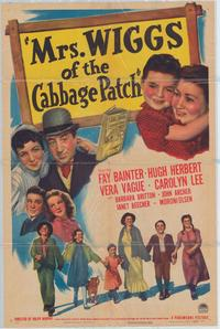 Mrs. Wiggs of the Cabbage Patch - 43 x 62 Movie Poster - Bus Shelter Style A