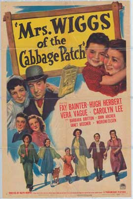 Mrs. Wiggs of the Cabbage Patch - 11 x 17 Movie Poster - Style A