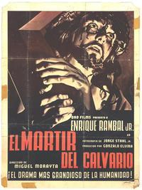 Mártir del Calvario, El - 27 x 40 Movie Poster - Spanish Style A