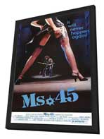 Ms. 45 - 11 x 17 Movie Poster - Style A - in Deluxe Wood Frame