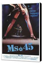 Ms. 45 - 27 x 40 Movie Poster - Style A - Museum Wrapped Canvas