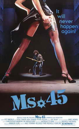 Ms. 45 - 11 x 17 Movie Poster - Style A