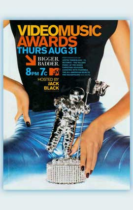 MTV Video Music Awards - 11 x 17 Movie Poster - Style A
