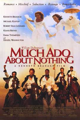 Much Ado About Nothing - 11 x 17 Movie Poster - Style B