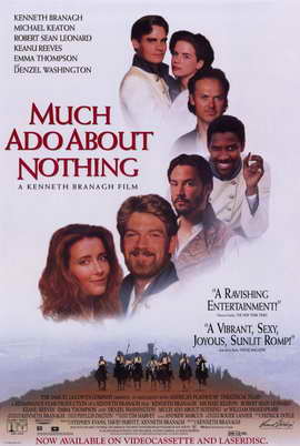 Much Ado About Nothing - 11 x 17 Movie Poster - Style C