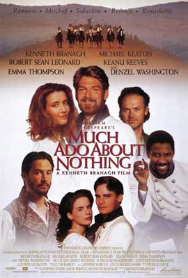 Much Ado About Nothing - 27 x 40 Movie Poster - Style A