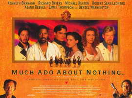 Much Ado About Nothing - 11 x 17 Movie Poster - Style D