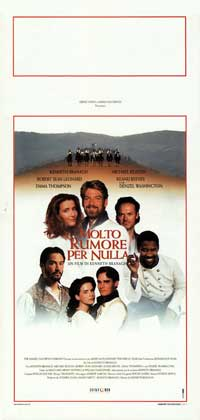 Much Ado About Nothing - 13 x 28 Movie Poster - Italian Style A