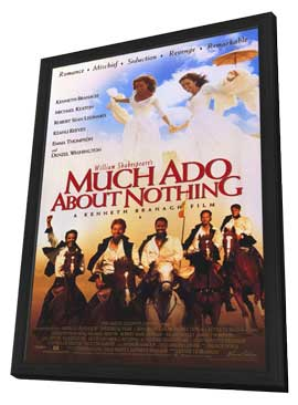 Much Ado About Nothing - 27 x 40 Movie Poster - Style B - in Deluxe Wood Frame
