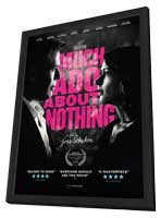 Much Ado About Nothing - 11 x 17 Movie Poster - Style A - in Deluxe Wood Frame