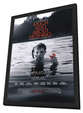 Much Ado About Nothing - 11 x 17 Movie Poster - Style B - in Deluxe Wood Frame