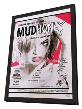 Mudhoney - 27 x 40 Movie Poster - Style A - in Deluxe Wood Frame