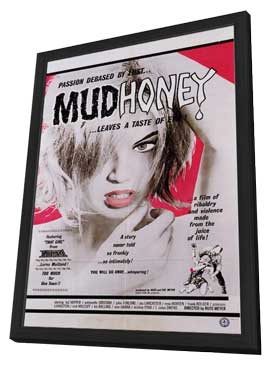 Mudhoney - 11 x 17 Movie Poster - Style A - in Deluxe Wood Frame