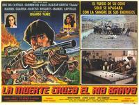 La Muerte cruzo el rio Bravo - 11 x 14 Poster Spanish Style A
