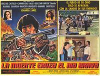 La Muerte cruzo el rio Bravo - 11 x 14 Poster Spanish Style C
